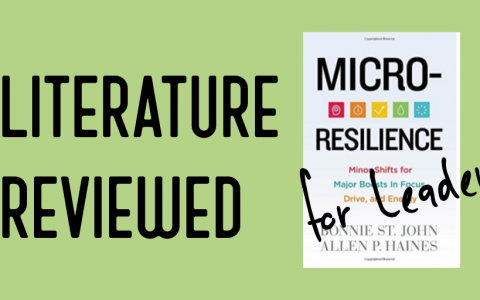 Literature Reviewed for Leaders: Micro Resilience